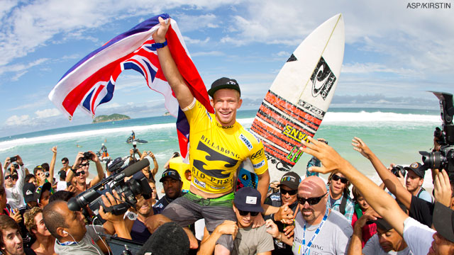John John Florence Triple Crown Winner